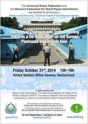 Korea conference 31-10-2014